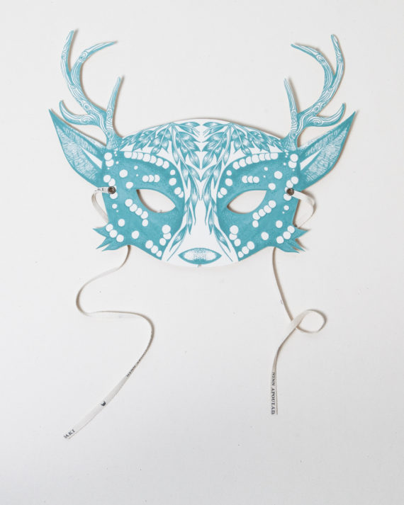 NINN_APOULADAKI-MASQUES_My_Deer_Blue