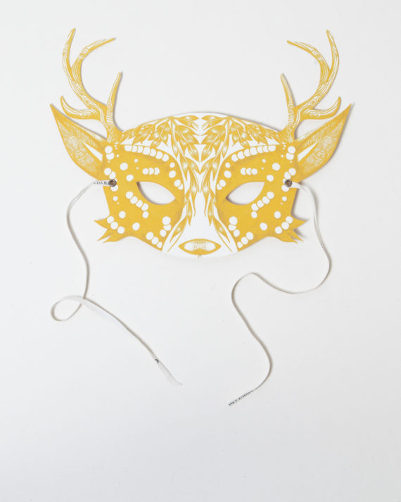 NINN_APOULADAKI-MASQUES_My_Deer_Yellow