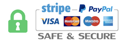 Stipe and Paypal - secure payment